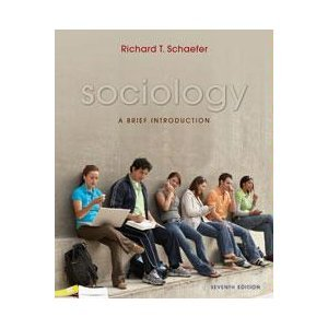 Sociology  7th 2008 edition cover