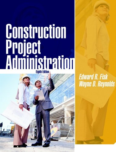 Construction Project Administration  8th 2006 edition cover
