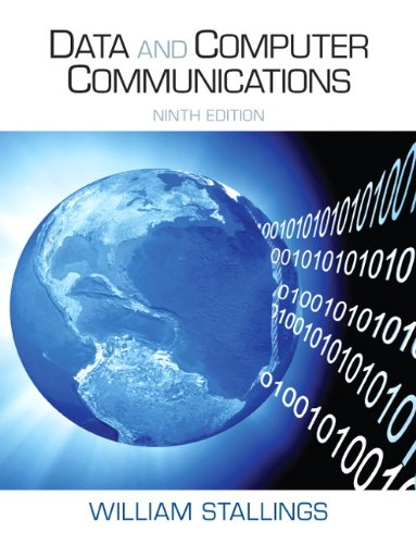 Data and Computer Communications  9th 2011 9780131392052 Front Cover