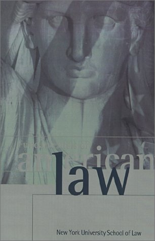 Fundamentals of American Law New York University School of Law  1996 edition cover