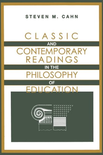 Classic and Contemporary Readings in the Philosophy of Education  N/A 9780199783052 Front Cover