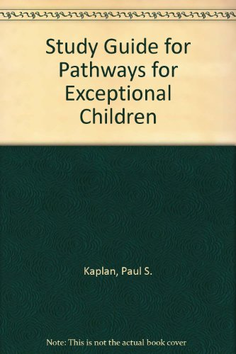 Exceptional Child 1st (Student Manual, Study Guide, etc.) 9780314063052 Front Cover
