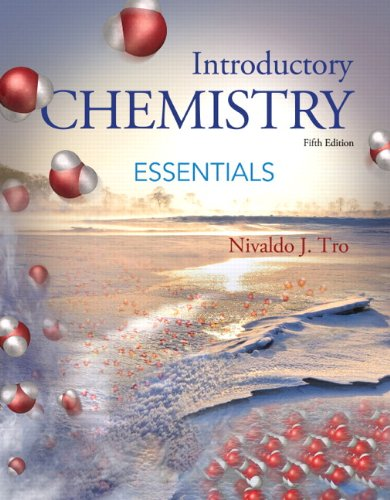 Introductory Chemistry Essentials  5th 2015 edition cover