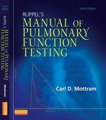 Ruppel's Manual of Pulmonary Function Testing  10th 2013 edition cover