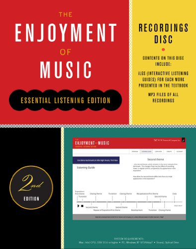 Recordings Disc: For the Enjoyment of Music, Essential Listening Edition, Second Edition  2013 edition cover