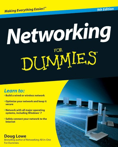 Networking for Dummies  9th 2010 edition cover