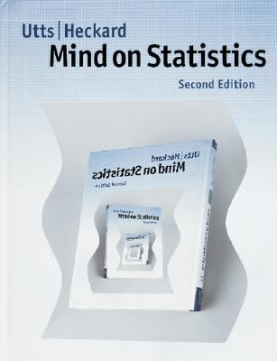 Mind on Statistics  2nd 2004 9780534393052 Front Cover