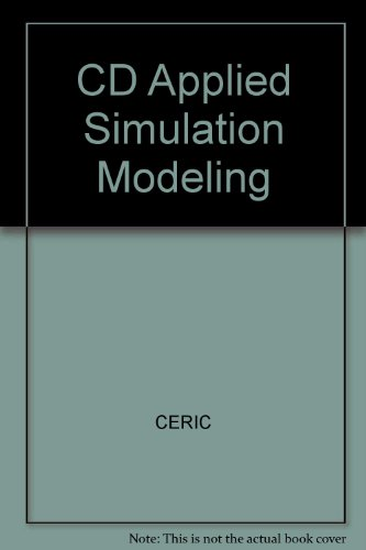 Applied Simulation Modeling  2003 9780534463052 Front Cover