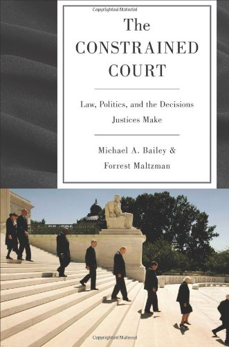 Constrained Court Law, Politics, and the Limits of the Attitude  2011 edition cover