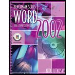 Microsoft Word 2002 : Core & Expert Certification  2002 9780763814052 Front Cover