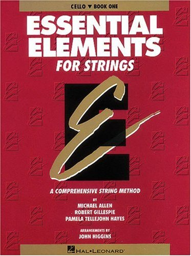 Essential Elements for Strings Cello N/A edition cover