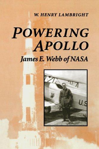 Powering Apollo James E. Webb of NASA  1995 edition cover