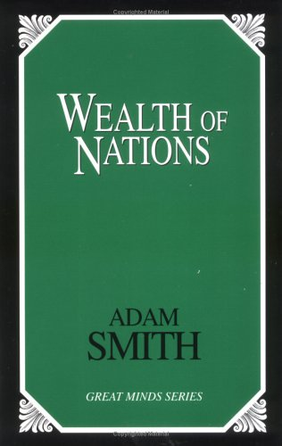 Wealth of Nations  Unabridged 9780879757052 Front Cover