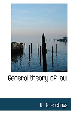 General Theory of Law  N/A 9781116570052 Front Cover