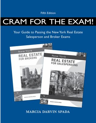 Cram for Exam! Your Guide to Pass the New York Real Estate Sale Exam  5th edition cover