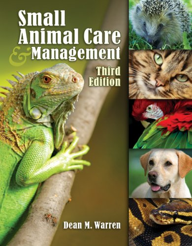 Small Animal Care and Management  3rd 2010 edition cover