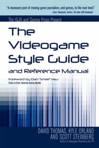 Videogame Style Guide and Reference Manual N/A edition cover
