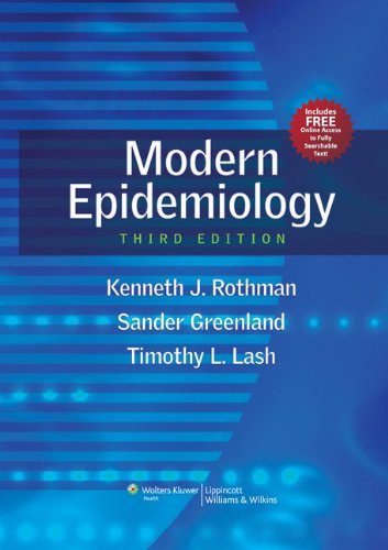 Modern Epidemiology  3rd 2013 (Revised) edition cover