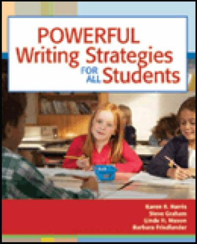 Powerful Writing Strategies for All Students   2007 edition cover