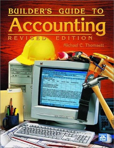 Builder's Guide to Accounting  2002 edition cover