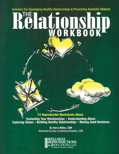 Relationship Workbook : Activities for Developing Healthy Relationships and Preventing Domestic Violence  2001 edition cover