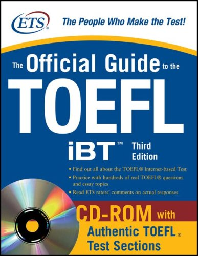 Official Guide to the TOEFL  3rd 2009 edition cover