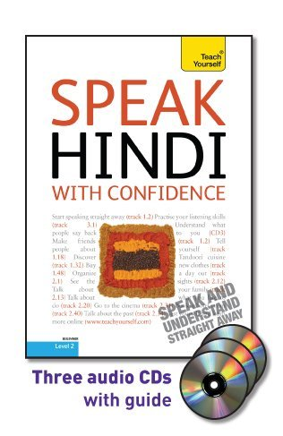 Speak Hindi with Confidence  2nd 2010 edition cover