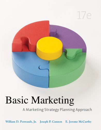 Basic Marketing  17th 2009 edition cover