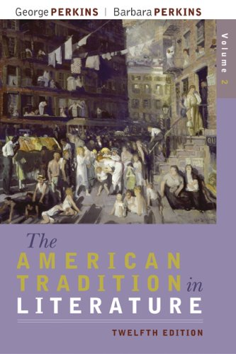 American Tradition in Literature  12th 2009 edition cover