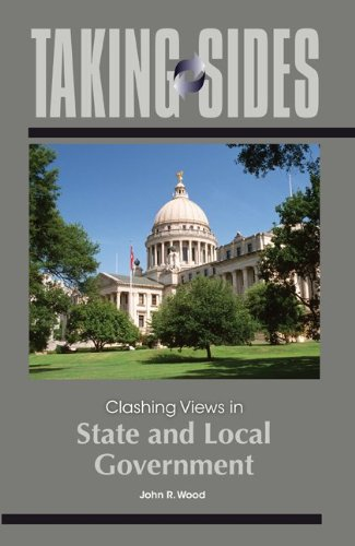 Taking Sides Clashing Views in State and Local Government  2011 9780078050053 Front Cover