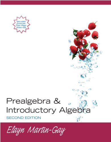 Prealgebra and Introductory Algebra  2nd 2008 edition cover