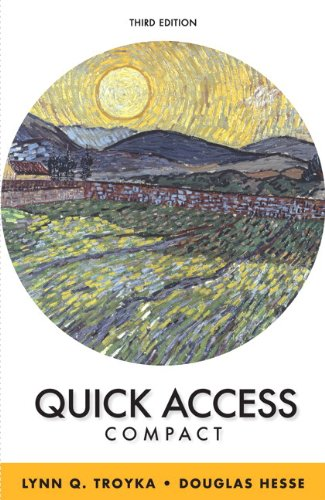 Quick Access Brief Plus MyWritingLab -- Access Card Package  3rd 2015 edition cover