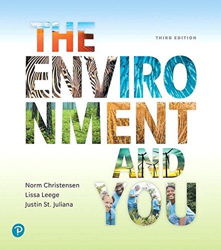The Environment and You:   2018 9780134646053 Front Cover