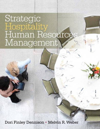 Strategic Hospitality Human Resources Management   2015 edition cover