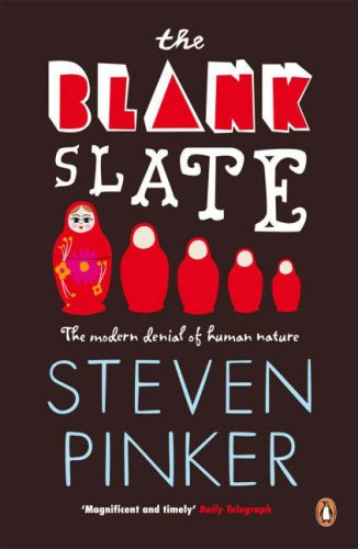 The Blank Slate (Penguin Press Science) N/A edition cover