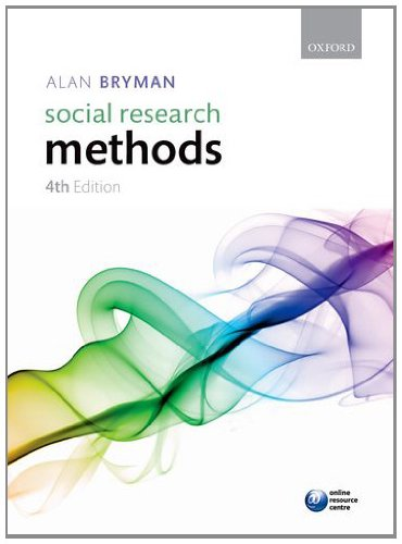 Social Research Methods  4th 2012 edition cover