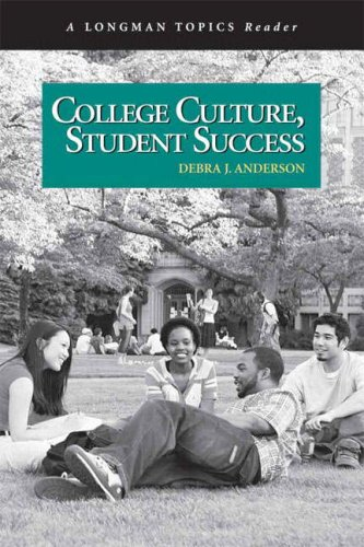 College Culture, Student Success   2008 9780321433053 Front Cover
