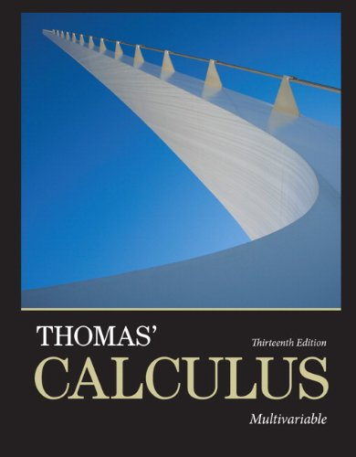 Thomas' Calculus, Multivariable:   2013 edition cover