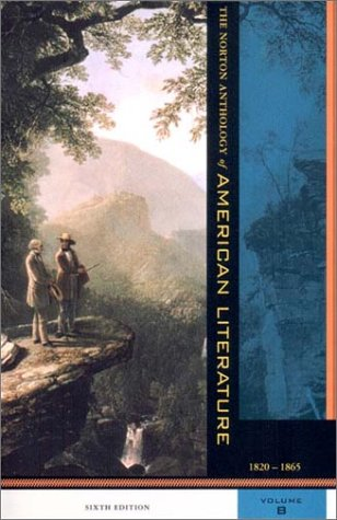 Norton Anthology of American Literature 6th 2002 edition cover