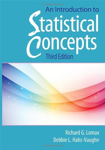 Introduction to Statistical Concepts  3rd 2012 (Revised) edition cover