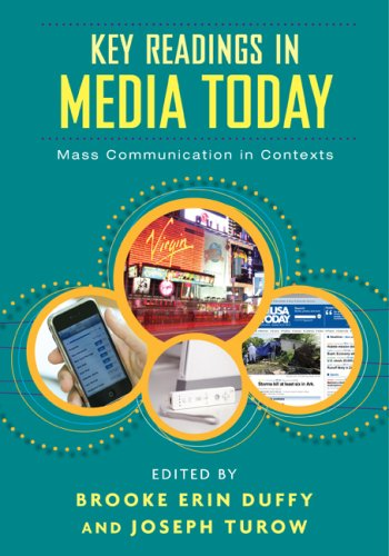 Key Readings in Media Today Mass Communication in Contexts  2009 edition cover