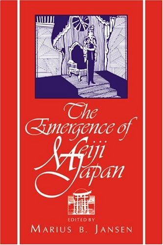 Emergence of Meiji Japan   1995 edition cover