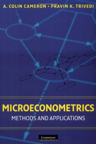 Microeconometrics Methods and Applications  2005 edition cover
