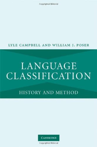 Language Classification History and Method  2008 9780521880053 Front Cover