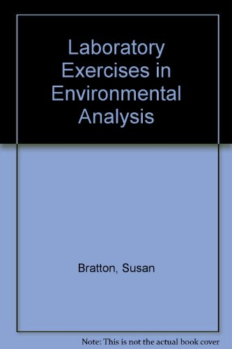Laboratory Exercises in Environmental Analysis  2nd (Revised) edition cover