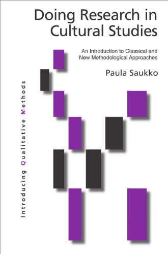 Doing Research in Cultural Studies An Introduction to Classical and New Methodological Approaches  2004 edition cover