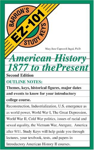 American History, 1877 to the Present  2nd 2003 edition cover
