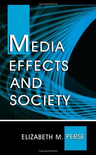 Media Effects and Society   2001 edition cover