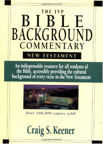 IVP Bible Background Commentary New Testament N/A edition cover