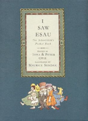 I Saw Esau The Schoolchild's Pocket Book N/A 9780868969053 Front Cover